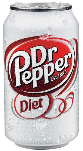 ДОКТОР ПЕППЕР Диет / Doctor Pepper Diet (США), 0,355мл., ж/б-1