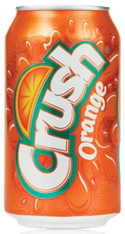 "КРАШ ""Апельсин"" / Crush ""Orange"" (США), 0,355мл., ж/б-1"