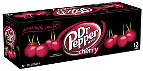 ДОКТОР ПЕППЕР Вишня / Doctor Pepper Cherry (США), 0,355мл., ж/б-2
