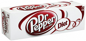 ДОКТОР ПЕППЕР Диет / Doctor Pepper Diet (США), 0,355мл., ж/б-2