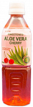 "АЛОЭ ВЕРА Вишня / LOTTE ALOE ""Cherry"", (0,5л.), ПЭТ"