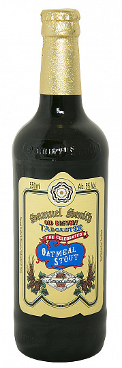 "СЭМЮЭЛ СМИТ'С ""Селебрэйтед Оатмил Стаут"" / Samuel Smith's ""Celebrated Oatmeal Stout"", (0,355л.), бут-1"