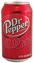 ДОКТОР ПЕППЕР / Doctor Pepper (США), 0,355мл., ж/б