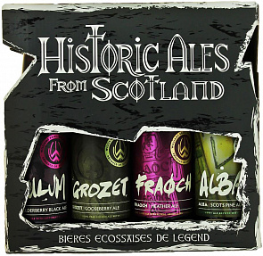 "Набор ""Исторические Шотландские Эли""/ Historic Ales from Scotland (4 бутылки 0,33л.)-1"