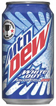 "МАУНТИН ДЬЮ Вайт Аут / Mountain Dew ""White Out"", (США), 0,355мл., ж/б"